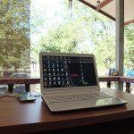 ここタイの田舎町ペッチャブーンでは、こんな環境でブログを書いています。