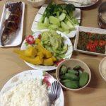 タイ嫁 ご飯(我が家の晩飯)