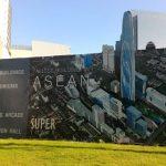 東南アジア最高層ビル『SUPER TOWER』建設現場