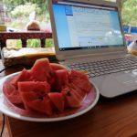 タイ ペッチャブーンの家で有給休暇を使ってゆっくりブログを執筆中。