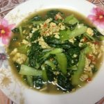 自家製!無農薬タイ野菜を使ったタイ料理レシピ(パットクワントンサイカイ)